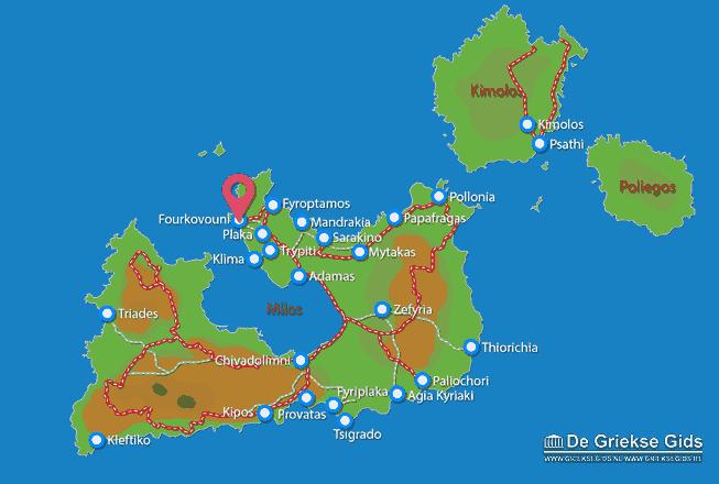 Uitstapjes / Trips vanaf Fourkovouni