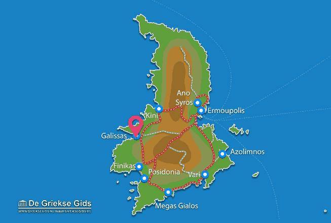 Uitstapjes / Trips vanaf Galissas