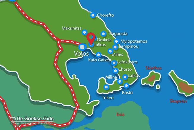 Uitstapjes / Trips vanaf Iolkos