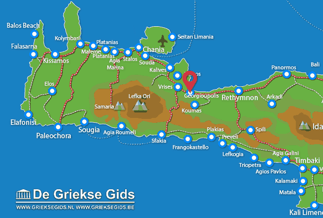Uitstapjes / Trips vanaf Georgioupolis