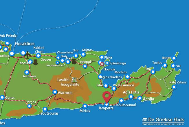 Uitstapjes / Trips vanaf Ierapetra