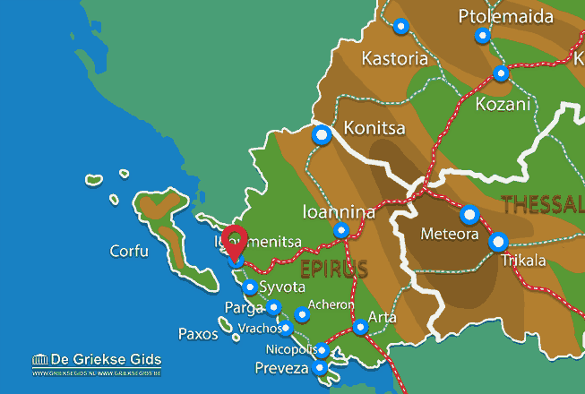 Uitstapjes / Trips vanaf Igoumenitsa