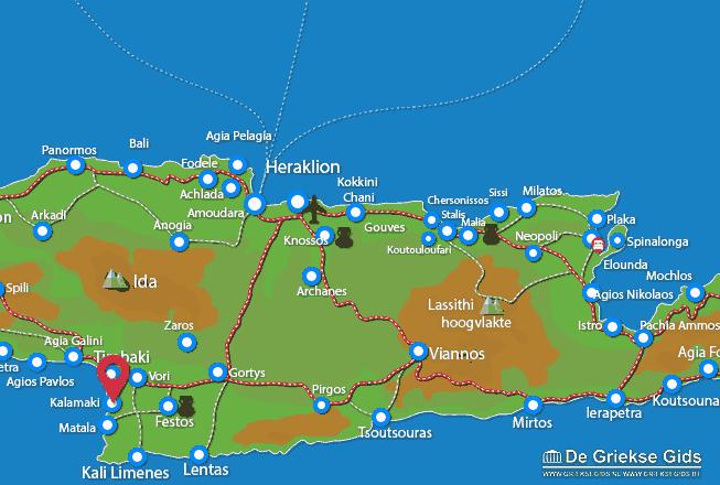 Uitstapjes / Trips vanaf Kalamaki