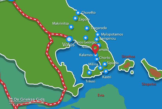 Uitstapjes / Trips vanaf Kalamos Pilion