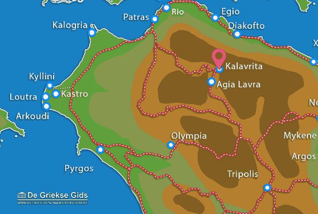 Uitstapjes / Trips vanaf Kalavrita