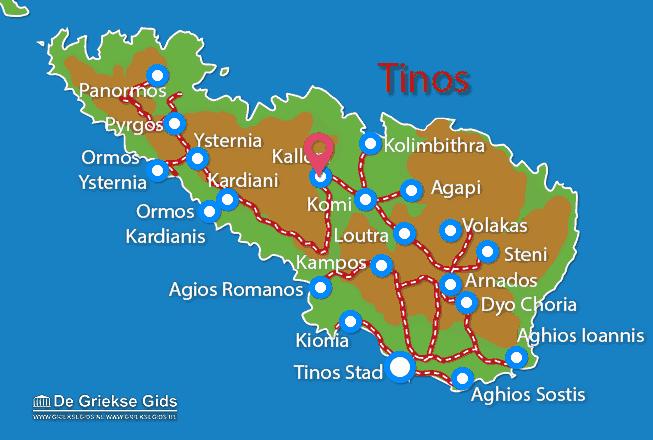Uitstapjes / Trips vanaf Kalloni