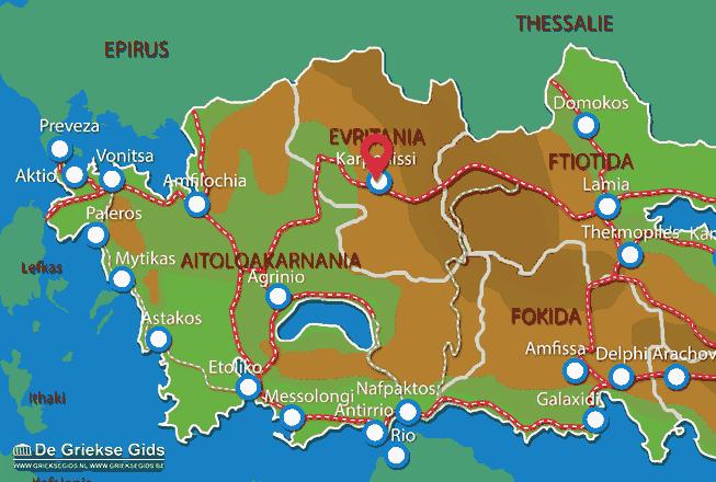 Uitstapjes / Trips vanaf Karpenissi