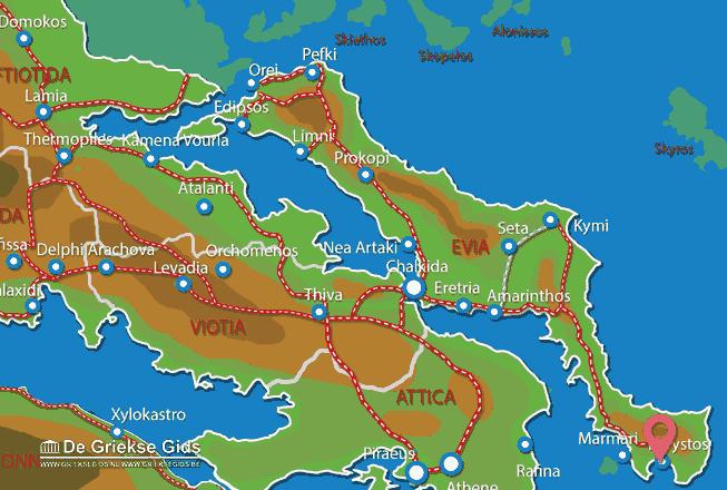 Uitstapjes / Trips vanaf Karystos