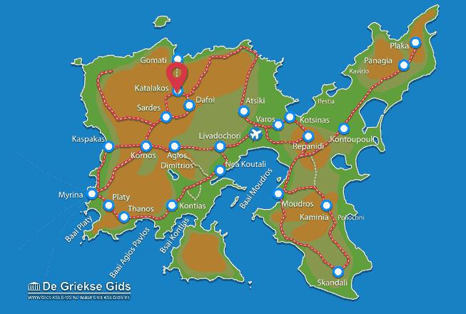 Uitstapjes / Trips vanaf Katalakos