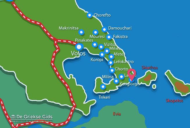 Uitstapjes / Trips vanaf Katigiorgis Pilion
