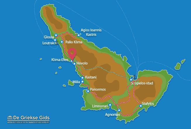 Uitstapjes / Trips vanaf Klima-Elios