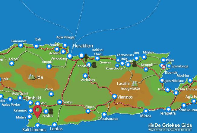 Uitstapjes / Trips vanaf Odigitria Klooster