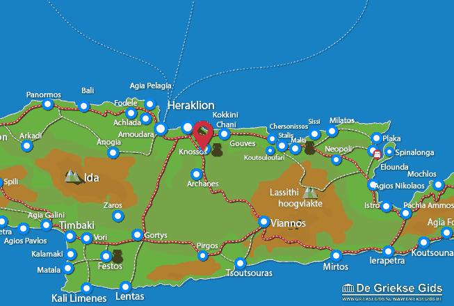Uitstapjes / Trips vanaf Knossos