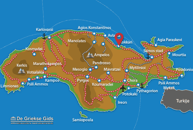 Uitstapjes / Trips vanaf Kokkari