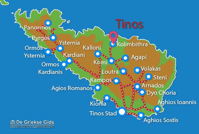 Uitstapjes / Trips vanaf Kolimbithra
