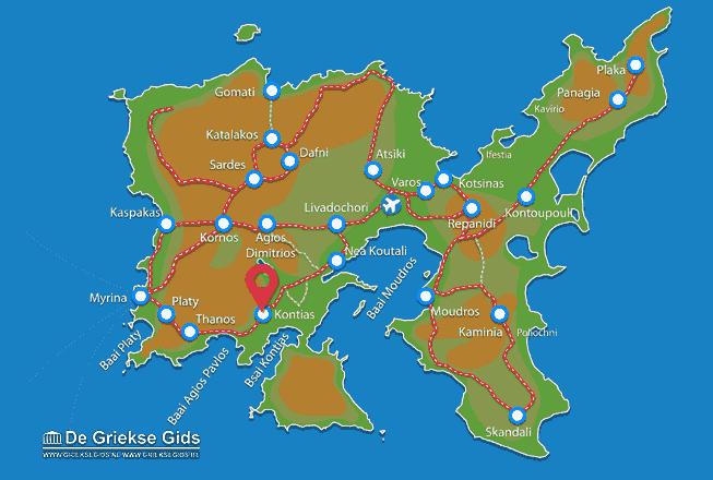Uitstapjes / Trips vanaf Kontias