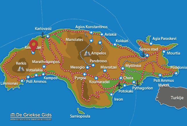 Uitstapjes / Trips vanaf Kosmadei
