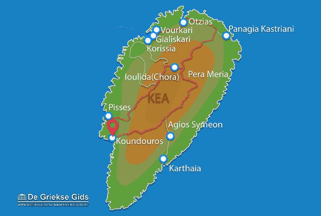 Uitstapjes / Trips vanaf Koundouros