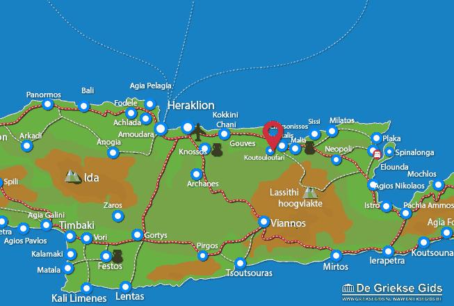 Uitstapjes / Trips vanaf Koutouloufari