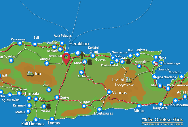 Uitstapjes / Trips vanaf Krousonas