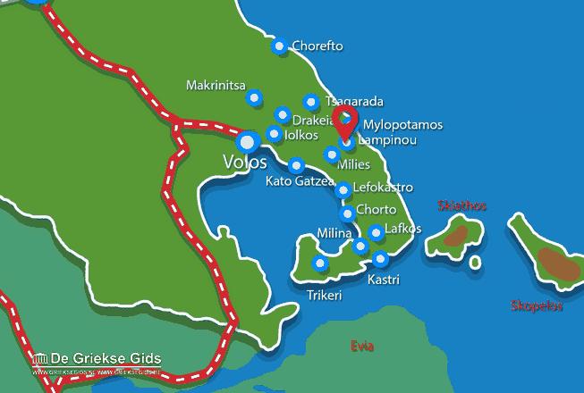 Uitstapjes / Trips vanaf Lampinou Pilion