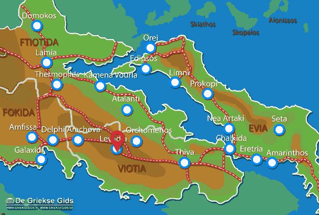 Uitstapjes / Trips vanaf Levadia