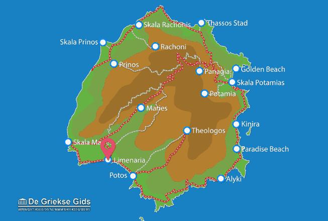 Uitstapjes / Trips vanaf Limenaria