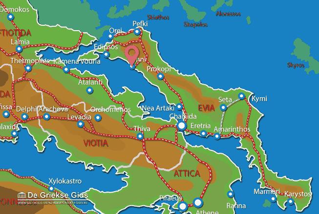 Uitstapjes / Trips vanaf Limni