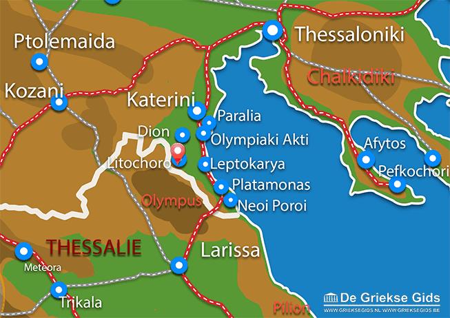 Uitstapjes / Trips vanaf Litochoro