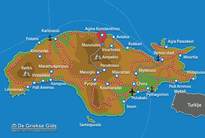 Uitstapjes / Trips vanaf Manolates