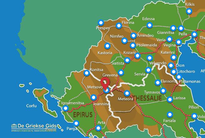 Uitstapjes / Trips vanaf Metsovo