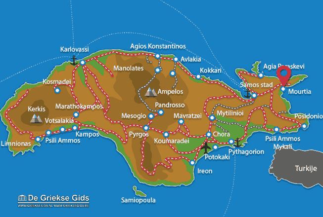 Uitstapjes / Trips vanaf Mourtia