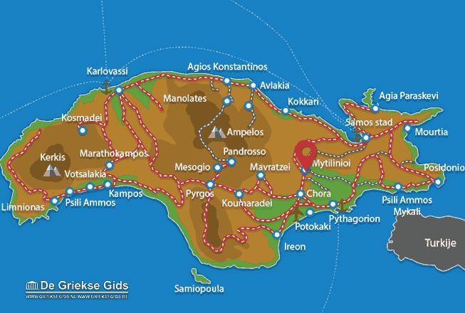 Uitstapjes / Trips vanaf Mytilinioi