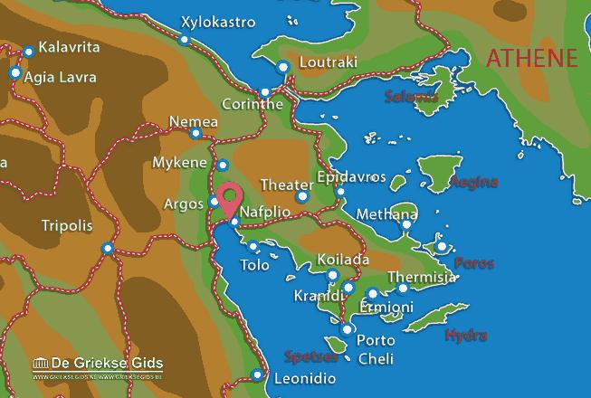Uitstapjes / Trips vanaf Nafplion