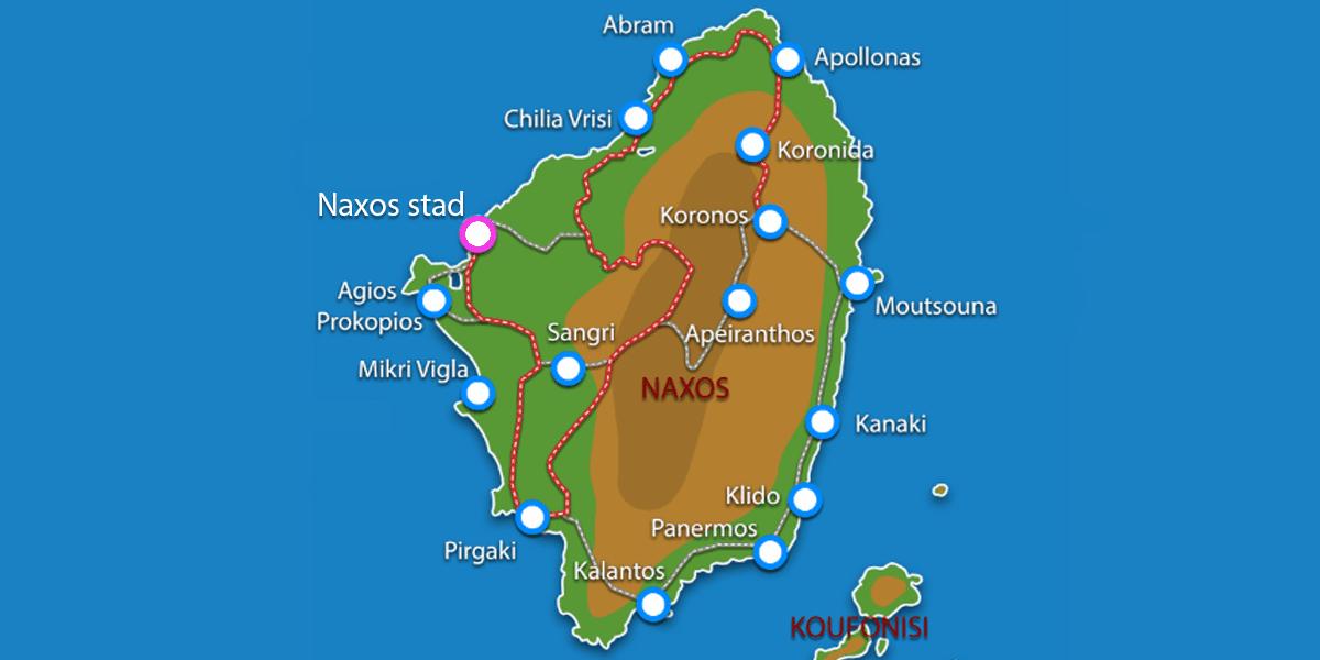 Uitstapjes / Trips vanaf Naxos stad