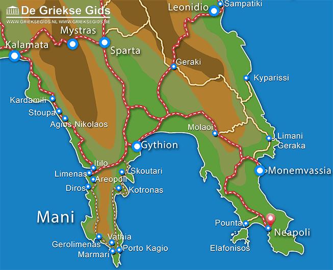 Uitstapjes / Trips vanaf Neapoli