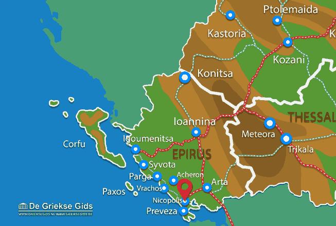 Uitstapjes / Trips vanaf Nicopolis
