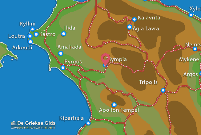 Uitstapjes / Trips vanaf Olympia