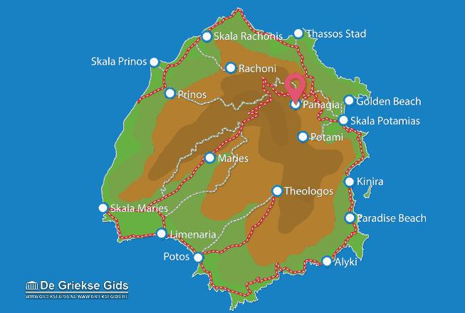 Uitstapjes / Trips vanaf Panagia