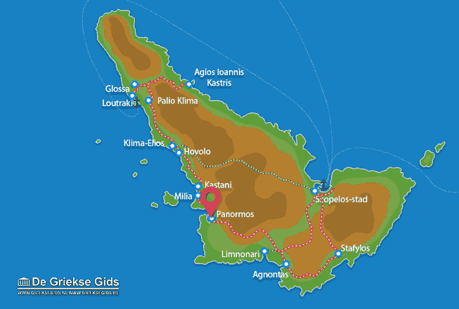 Uitstapjes / Trips vanaf Panormos