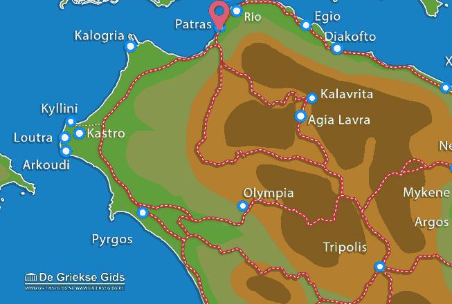 Uitstapjes / Trips vanaf Patras