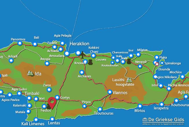 Uitstapjes / Trips vanaf Petrokefali