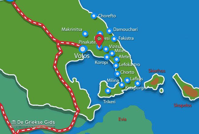 Uitstapjes / Trips vanaf Pinakates Pilion