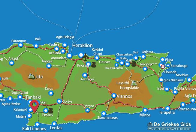 Uitstapjes / Trips vanaf Pitsidia