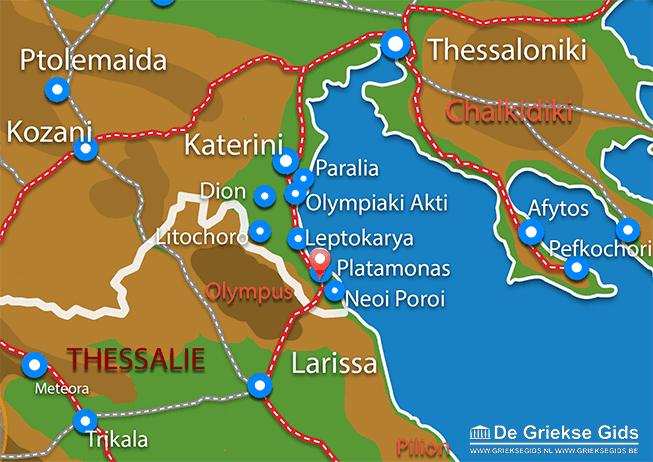 Uitstapjes / Trips vanaf Platamonas