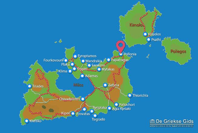 Uitstapjes / Trips vanaf Pollonia