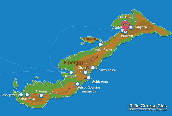 Uitstapjes / Trips vanaf Potamos