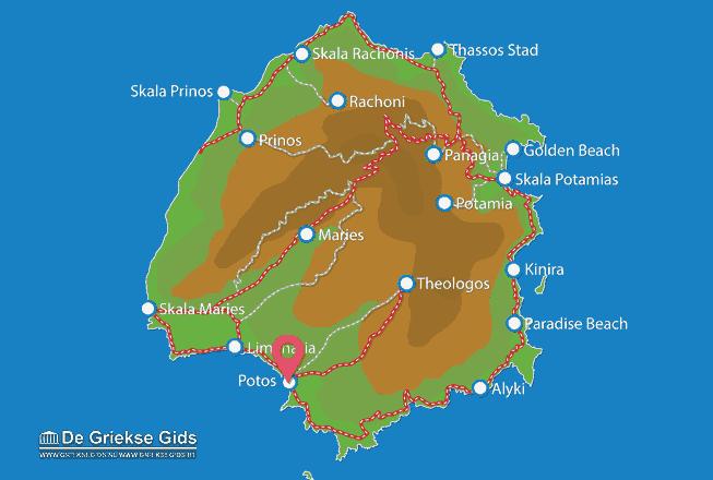 Uitstapjes / Trips vanaf Potos