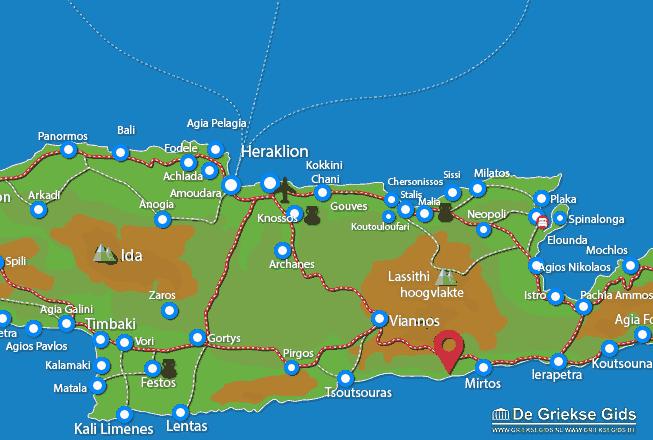 Uitstapjes / Trips vanaf Psari Forada