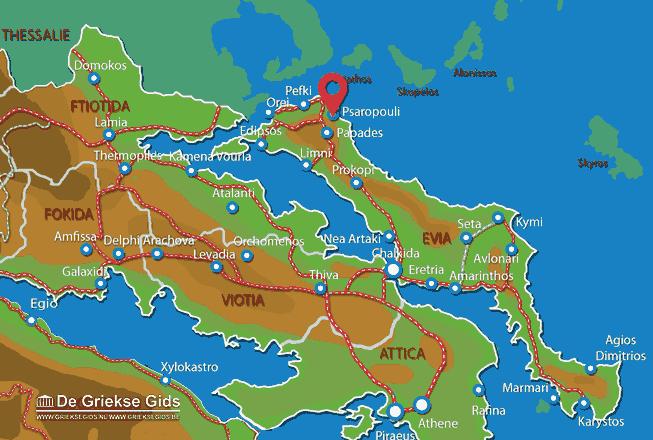 Uitstapjes / Trips vanaf Psaropouli